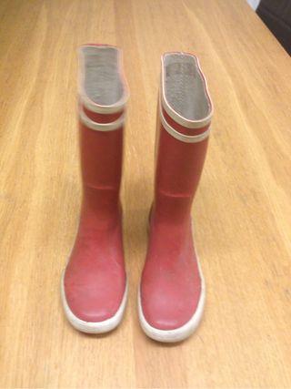 aigle wellington boots size 28