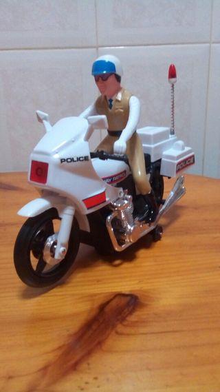 Moto Policía Patról