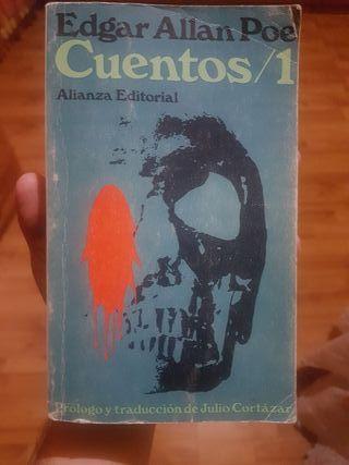 libro Cuentos el numero 1 Edgar Allan Poe