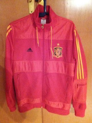 chaqueta de la selección española de fútbol
