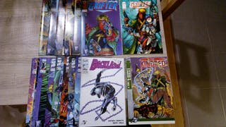 Backlash y Grifter y especiales, de Image Comics.