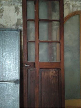 Puertas cristaleras antiguas
