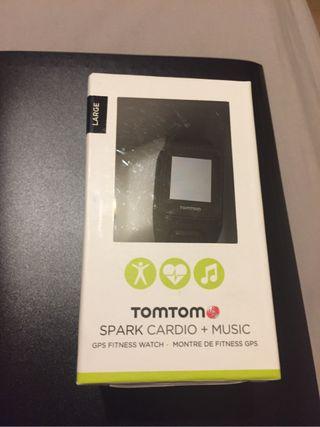 TomTom Spak Cardio Music
