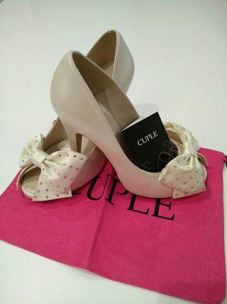 zapatos de novia de segunda mano en oviedo en wallapop