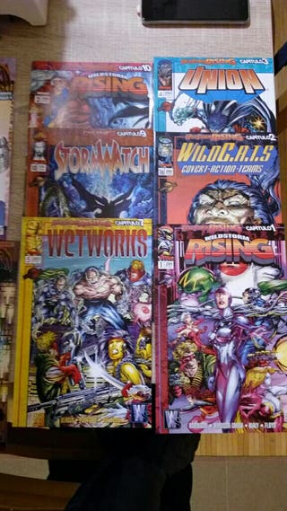 Wildstorm Rising y Fire From Heaven, Image Comics.