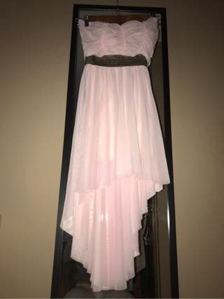 Vestido rosa fiesta o boda