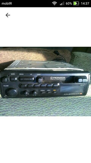 radio cassette reversible