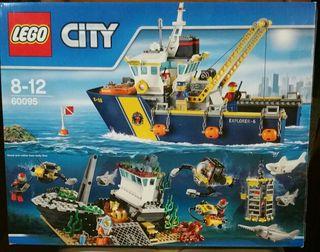 Buque exploración submarina de lego