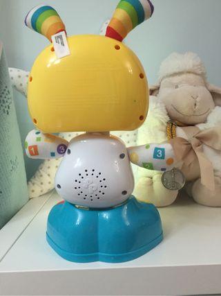 Robot interactivo juguete bebe