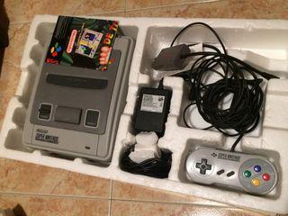 Supernintendo SNES 2 juegos