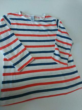 camiseta niña talla 4_5
