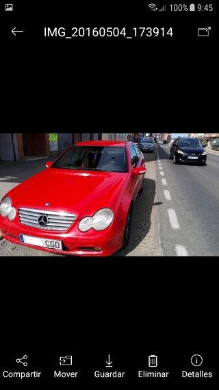 Mercedes-benz Clase C 220 cdi sport coupe Nacional