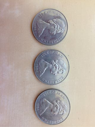 Monedas Isla de Man