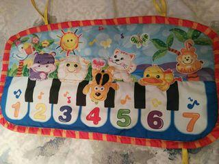 juguete bebé piano pataditas