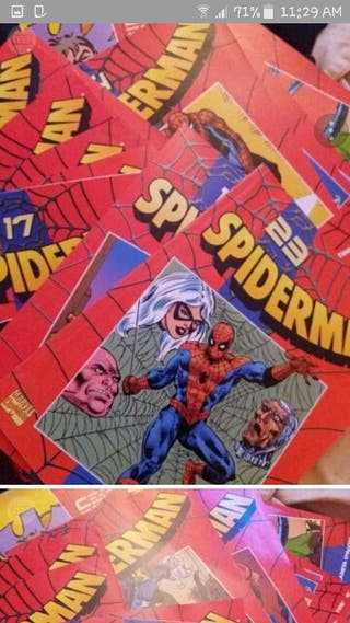 coleccion 30 comic spiderman