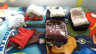 Lote ropa invierno bebe niño 9-12 y 18 meses