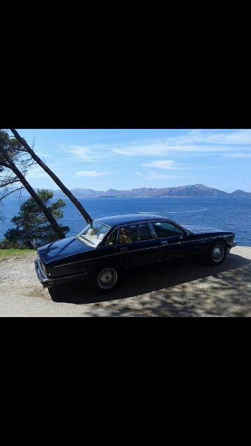 jaguar daimler xj40 1989