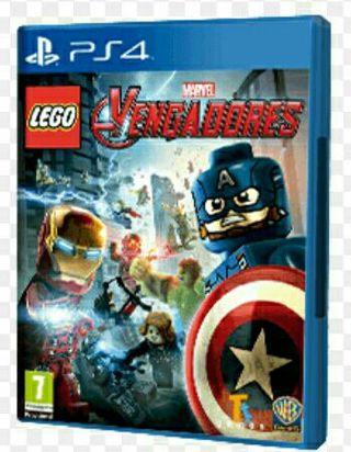 juego ps4 lego Marvel Vengadores