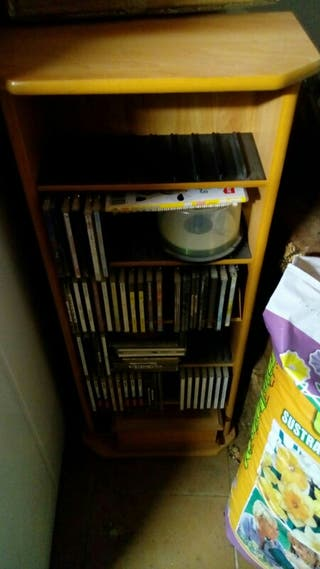 Estanteria de CDs