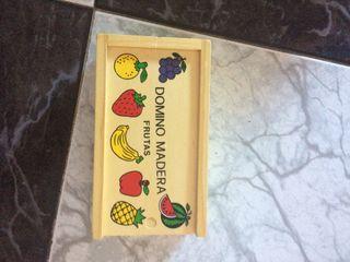Juego dominó de frutas