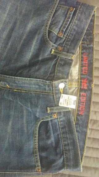 Pantalones levi's 527 Limited Edition 34 32