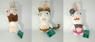 Lote 3 peluches Rabbits