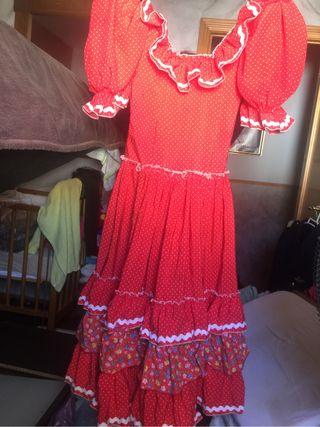bata y vestido de jitana