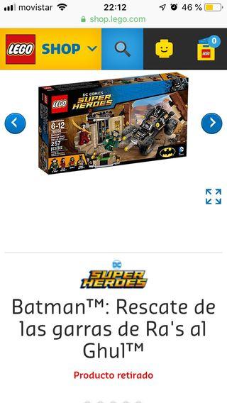 Batman: Rescate de las garras de Ra's al Ghul