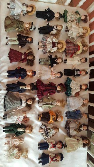 coleccion muñecas porcelana