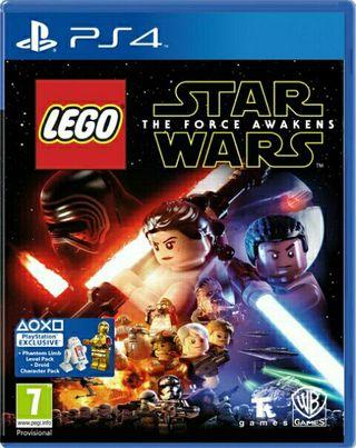 juego ps4 LEGO STAR WARS