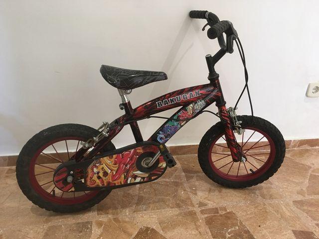 Bicicleta para niño niña