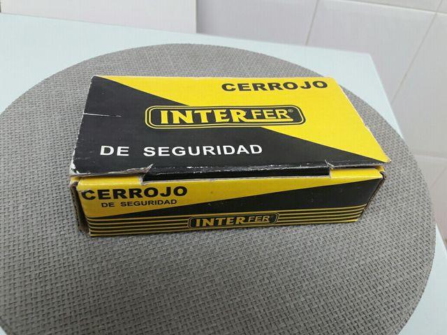 Cerrojo de seguridad Interfer.