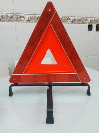 Triangulo de seguridad.