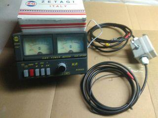 antena y medidor emisora