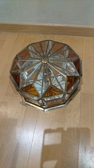 lampara vidriera