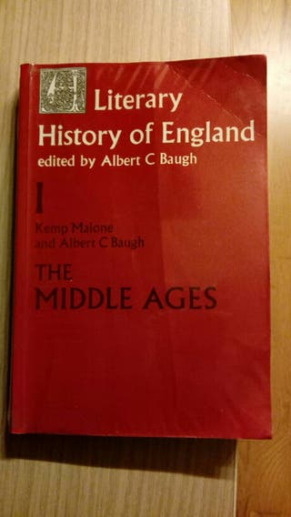 Libro literatura inglesa