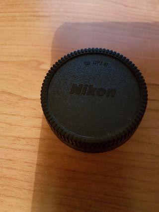 Tapa trasera para objetivos Nikon
