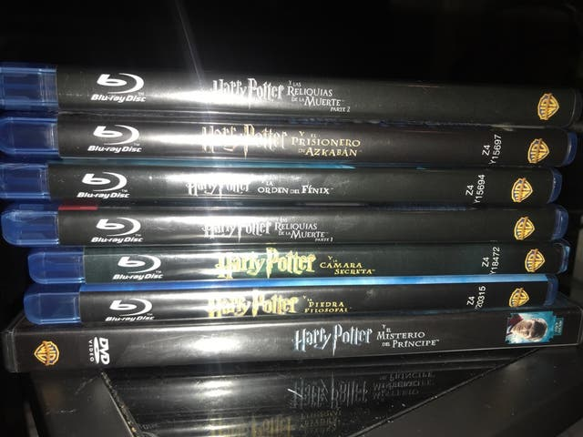 Peliculas Harry Potter Blu-Ray