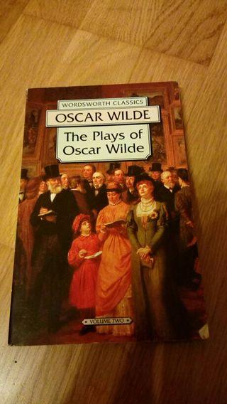 Libro inglés Oscar Wilde