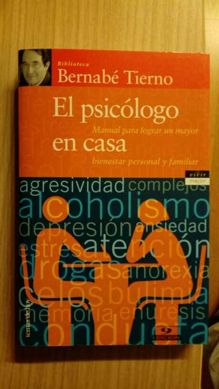 Libro Bernabé Tierno, el psicólogo en casa