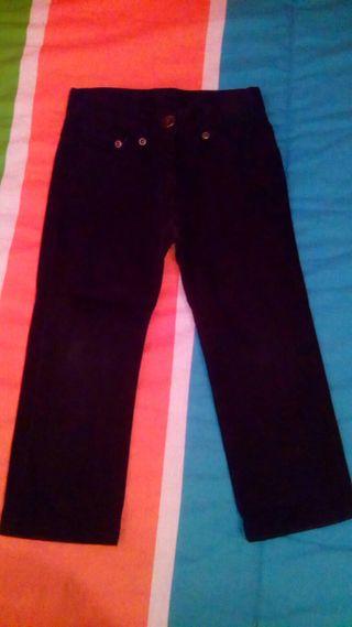 Pantalon unisex T. 2 negro Mc Baby