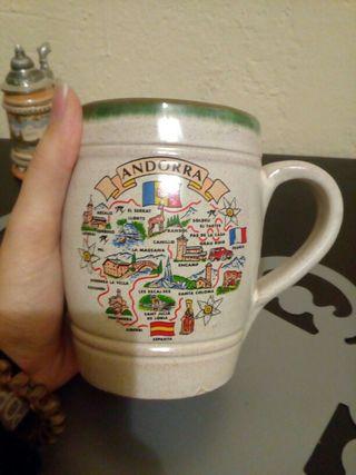 jarra souvenir regalo de Andorra