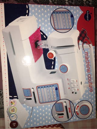 Maquina coser caja costura