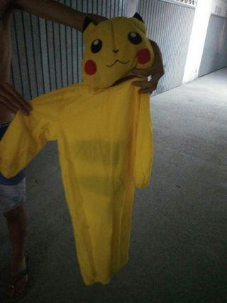 disfraz para niño Pickachu