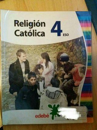Religión católica 4 eso Edebe