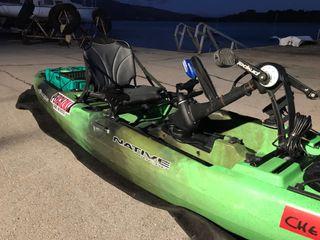 Kayak a pedales Native Slayer