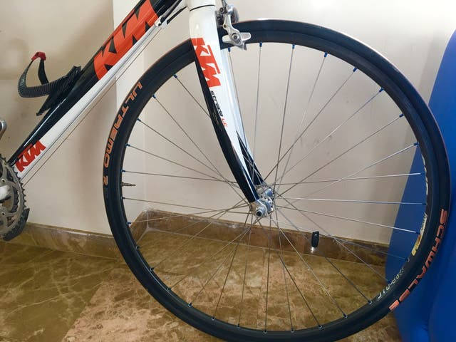 Bicicleta KTM fibra de carbono nueva Dura ace -