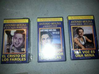 Películas vídeo Antonio Molina