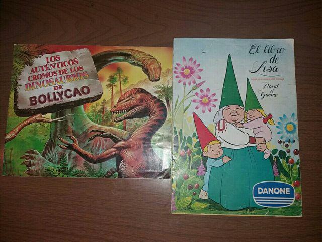 Álbumes David El Gnomo y Dinosaurios