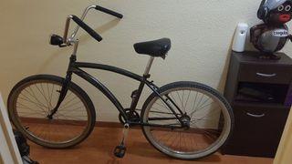 Bicicleta fixie contrapedal